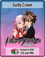 Guilty Crown Anime Icon by amirovic