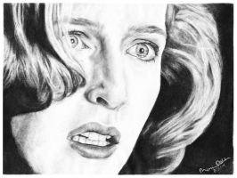 Pusher, Dana Scully by EnigmaticDrScully