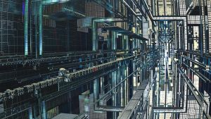 YEAR 2914 - MEGACITY - Pong 009 by Topas2012