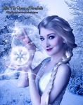 Elsa The Queen of Arendelle by GrandeReveuse