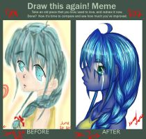 DRAW THIS AGAIN MEME Why do I cry by fronanc345