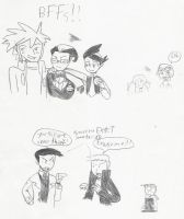 Doodle page 1 by Anna-aurion