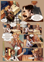 Monsieur Charlatan Page 11 by DrSlug