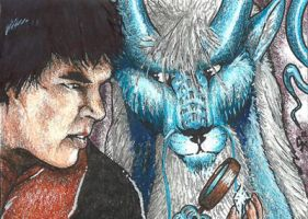 ACEO: And what about magnifier, Holmes? by Augala