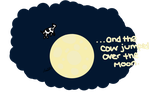 The Moon and Cow by LaucyJackson