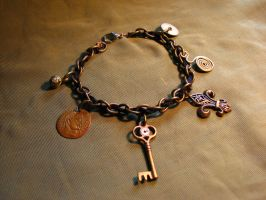Charm Bracelet by Muffinettes-crafts