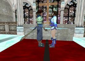 Kilik and Xianghua At The Altar by Stylistic86