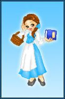 Disney Dollz: Belle by NoctiaVG