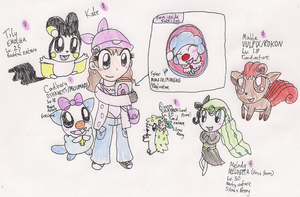 Me and my Unova Pokemon by RussellMimeLover2009