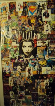 wall of comics by juggalo08332