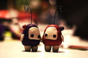 Ilomilo Polymer Clay Figures / Photo Holders by Sushumo