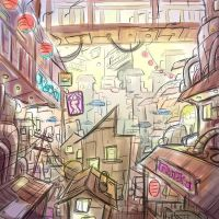 Chinatown OC by aimee5