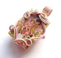 Apple Blossom Flower Fairy Pen by sojourncuriosities