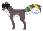 x. Wolf adoptable VIII. OPEN by HandleYourself