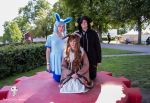 Eeveelutions - Glaceon, Umbreon and Eevee 2 by DreamyArtCosplay