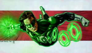 GREEN LANTERN (colors) by FantasticMystery