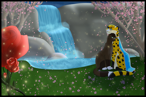 Waterfall of Love by SapphireSquire