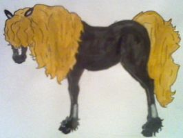 Dave Mustaine horse.. by MegaDave666