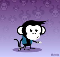 Misfits Monkey by Nemons