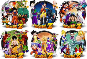 DBZ Movies icons Vol. 1.0 by DarkSaiyan21