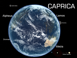 Caprica from High Orbit by SixU
