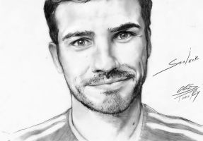 Iker Casillas Portrait by ChaosTheory999