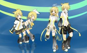 Kagamine Act 2 Append by KoNaChan95