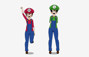 o3o Yay Super Mario Brothers o3o by Fukiyorev123