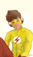 Kid Flash by aderinola
