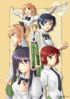 Katawa Shoujo by ClowKusanagi