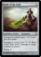 MtG - Blade of the Exile by soy-monk