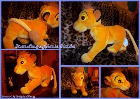 Standing Applause Simba by DoloAndElectrik