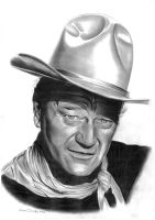 John Wayne by donchild