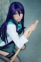 HIGHSCHOOL OF THE DEAD - Saeko by jiaanxu