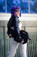 Major Motoko Kusanagi by PrSerenity