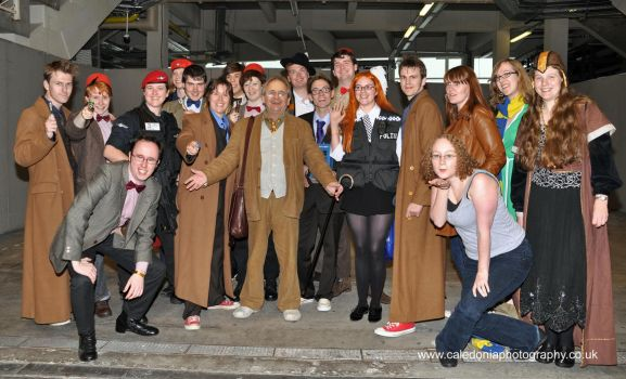 Sylvester McCoy and many T's by BartyJnr
