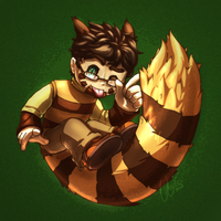 Omegaro Furret Collab by Omegaro