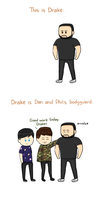 Drake the bodyguard by espadaroja