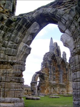 Whitby Abbey by Typhin