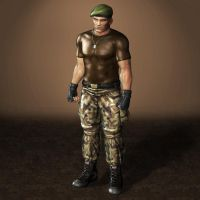 Dead Or Alive 5 Ultimate Bayman by ArmachamCorp