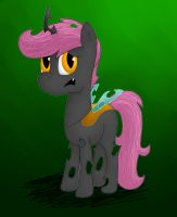 Scootaloo as a Changeling by Astrera