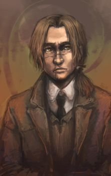 HP - Remus portrait by oneoftwo