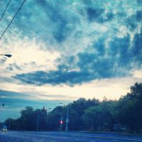 The sky above the town by ritagirl