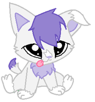 LPS OC- Lavender the kitty- needs family (CONTEST) by LittleSnowyOwl