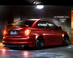 Hyundai Accent ERA V6 3.2 by EmreFast