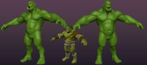 Orc 3D by dackQ