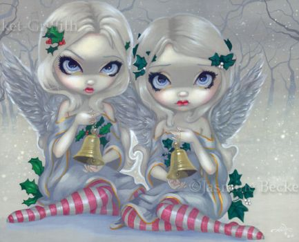 The Holly and the Ivy by jasminetoad