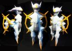 Arceus Papercraft by thepapersmith