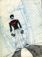Nightwing: Redwing by JsmNox