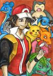 Pokemon Trainer Red by Magizoom